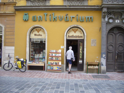 Searching for books in hungary